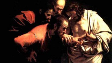 Photo of El día en que Tomás encontró la paz en las heridas Jesús