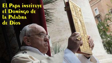 Photo of Aperuit illis, el Motu Proprio con el que se instituye el Domingo de la Palabra de Dios