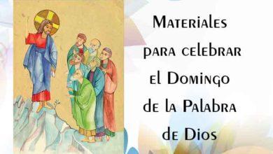 Photo of Materiales para celebrar el Domingo de la Palabra de Dios