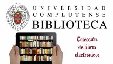 Photo of Libros electrónicos de la Biblioteca Complutense de Madrid
