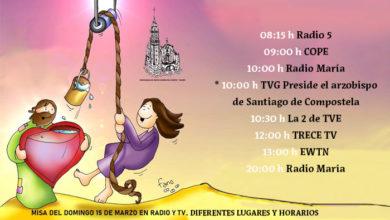 Photo of Ante el coronavirus: misas en televisión y en la radio