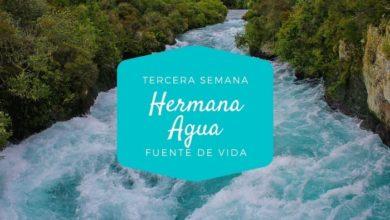 Photo of Tiempo de la Creación. Tercera Semana: Hermana Agua.