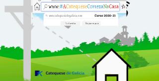 """Photo of Lema y cartel para el nuevo curso de catequesis: """"LA CATEQUESIS COMIENZA EN CASA""""… y CONTINÚA EN LA PARROQUIA"""